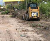 Obras avançam para a sede do município