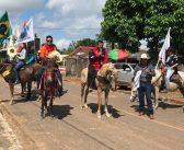 Cerimônia religiosa e cavalgada marcam festividade no km18
