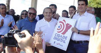 Governador do estado fecha parcerias com o prefeito José Caetano e traz benefícios à população